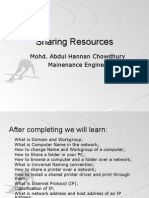 3. Sharing Resources