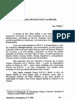 A Dupla Vinda de Foucault Ao Brasil