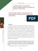 María Elina Zacarías-Conflicto Armado Interno en Colombia e Intervecionismo de Los EEUU. El Fracaso de Las Tres Guerras 1947-2010