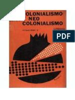 SARTRE (NOBEL)- Colonialismo y Neocolonialismo