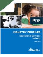 Industry Profile Educational Services en Alberta