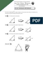 Guia 7 - Resolución de Triángulos Rectángulos