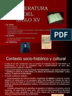 La Literatura en El s Xv