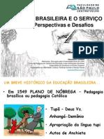 Educação Brasileira e o Serviço Social_euzébio