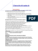 Submodulo I Operación Del Equipo de Computo