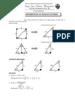 Guia 3 - Razones Trigonométricas de Ángulos Notables