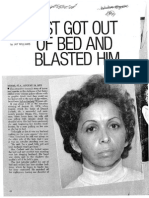Newspaper clipping documenting the Garbett case