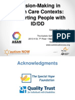 Autistic Self Advocacy Network Webinar with Autism NOW July 29 2014