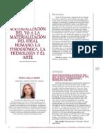 Fisiognomica Frenologia y Arte