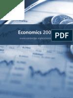 Economics 2009