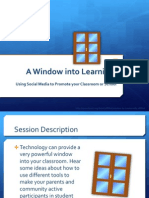 Window Into Learning