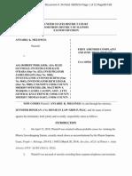 6/5/14 First Amended Complaint, Melongo v. Podlasek et al
