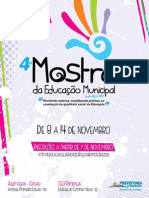 REVISTA Mostra 2013 - Hotsite