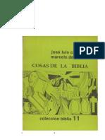 Caravias Cosas de La Biblia Guc3ada Bc3adblica p Las Comunidades