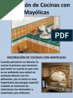 Decoración de Cocinas Con Mayólicas