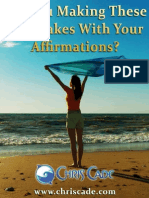 Are You Making These 3 Mistakes With Your Affirmations