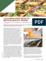 Clearwater Beach Restaurant Week by Heather Turk