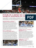 Four of a Kind NCAA March Madness in Las Vegas