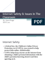 internet safety  issues in the classroom