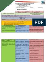 Propuesta Didactica 2015 (Español i) Primer Grado Proyecto 3