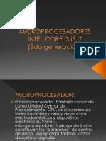 Microprocesadores Intel Core i3,i5,i7