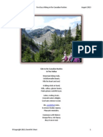 Ode to the Canadian Rockies in Haiku-V1.1