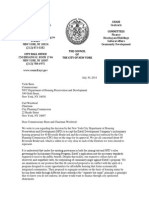 Letter Regarding Inclusionary Housing Program Approval for 40 Riverside Boulevard
