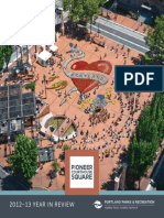 Pioneer Courthouse Square Annual Report 2012-13