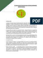 Plan de Gestión de Convivencia Escolar 2014 Colegio Esperanza Monte Águila