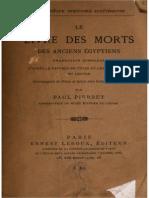 Le Livre Des Morts Des Anciens e Gyptiens