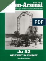 Waffen Arsenal - Band 168 - Ju 52 - Weltweit im Einsatz
