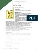 Oraculo Belline Nº 43 - Fama _ La Magia Del Tarot
