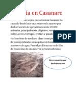 Sequía en Casanare