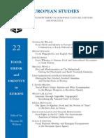 Food Drink Identity Europe European Studies 2006