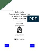 CA Contractors 2014