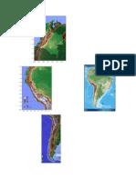 Mapa Bosque Andino y Alto Andino