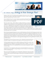 Is There Any Strategy in Your Strategic Plan Web