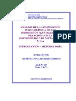 Analisis de La Composicion Fisico Quimica de Sedimentos Fluviales