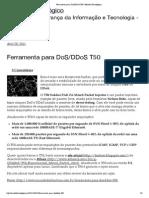 Ferramenta para DoS_DDoS T50 _ Mundo Tecnológico