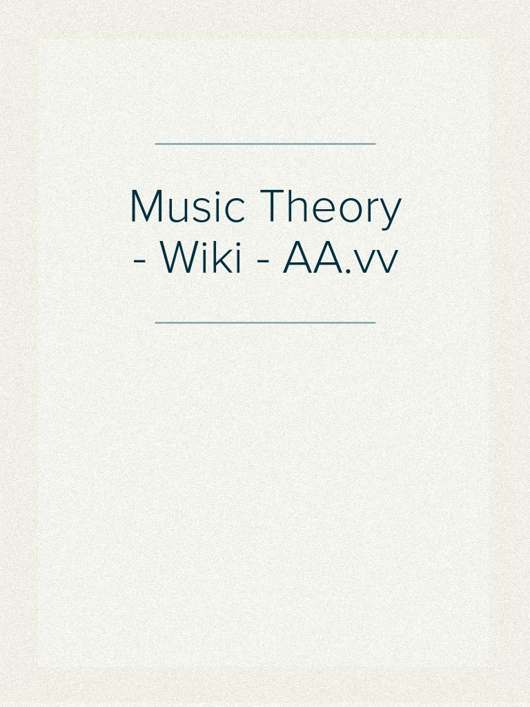 Music theory wiki aavv mode music musicology fandeluxe Choice Image