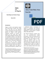 16 the Impact of MultipleTaxation on Competitiveness in Nigeria