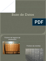 BASE DE DATOS PARA NO INFORMÁTICOS