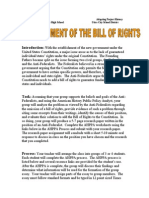 25. the Bill of Rights Webquest