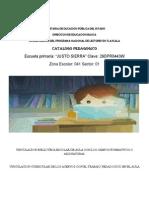 Catalogo Pedagigico Escuela Primaria Justo Sierra