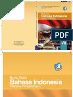 Buku Pegangan Guru Bahasa Indonesia Kelas VIII SMP/MTs K13