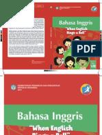 Buku Siswa Bahasa Inggris Kelas VIII SMP/MTs K13