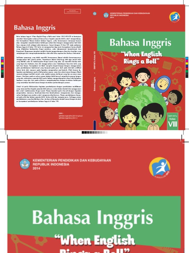 Buku Siswa Bahasa Inggris Kelas Viii Smp Mts K13 Bahasa