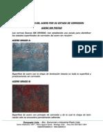 Grados Corrosion Acero