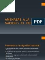 AMENAZAS  A LA  NACION Y  EL  ESTADO.pptx