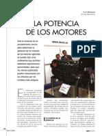 La Potencia de Los Motores